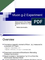 Muon G-2 Experiment