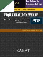 Fiqh Zakat & Wakaf