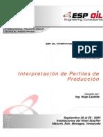 Interpretacion de Perfiles de Produccion