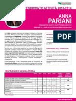 Rendiconto Anna Pariani