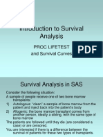 Survival Analysis Ppt