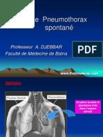 Le  Pneumothorax spontané.ppt