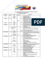 Calendar of Activities-msep 2014-2015
