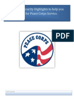 Peace Corps Pre-Departure Safety and Security Information_Current Version