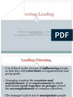 -Part 4 - Leading & Directing