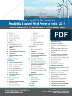 Feasibility Study of Wind Power in India - 2014