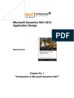 9781782170365_Microsoft_Dynamics_NAV_2013_Application_Design_Sample_Chapter