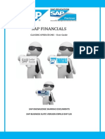 SAP Financials Closing Operations _ User Guide