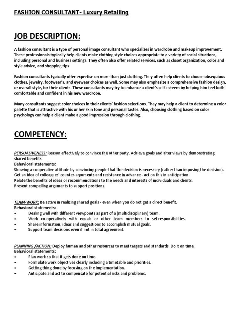 Fashion Design Job Description. costume designer job ...