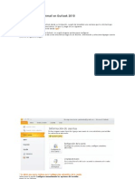 Cómo Configurar Hotmail en Outlook 2010