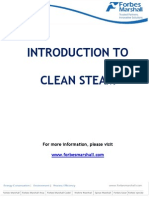 Introduction to Clean Steam
