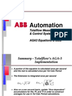 ABB Totalflow AGA3 Equations and Data
