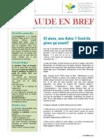 Bulletin PEPS Aude en Bref 3éme Trimestre 20 14