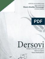 DERSOVI - Husein Efendija Numanagić