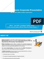 Bright Consultants Corporate Presentation