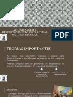 Aprendizagem e Desenvolvimento Intelectual Na Idade Escolar (1) (1)