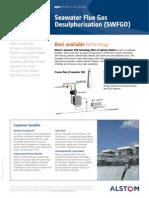 Seawater Flue Gas Desulphurisation