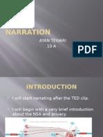 storyboard- narration