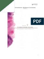 grade 7 curriculum guide 2014-2015