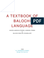 29837920 1922 a Textbook of Balochi Language
