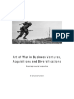 Art of War in Business Acquisitions