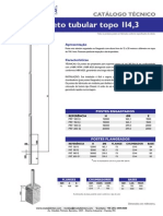 Catalogo - Poste de Aço 12 a 20m - Metalsinter