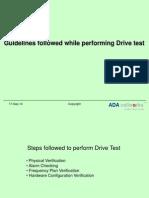 Drive Test 2g
