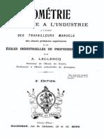 A.leclercq - Géométrie Appliquée