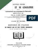 Abbé Rioux - Nouveau Cours d'Histoire Et de Géographie