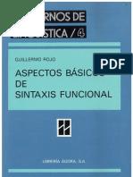 Aspectos Basicos de Sintaxis Funcional