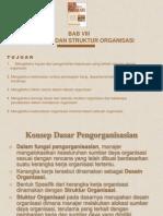 8.Desain Dan Struktur Organisasi