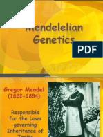 Mendelian Genetics1
