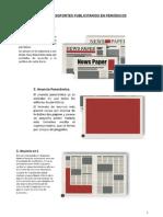 Distintos Soportes Publicitarios en Periódicos