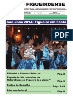 O Figueiroense, n.º 0 (julho de 2014)