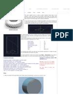 How to Model Helical Gears in ProE _ Creo (Module)