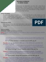 Tipología de Párrafos
