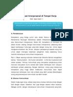 671_Komunikasi Interpersonal Di Tempat Kerja - Iqbal Islami