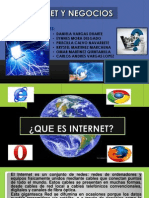 Trabajo de Internet y Negocios Power Point