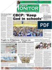 CBCP Monitor Vol. 18 No. 19
