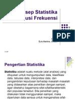 data . Pertemuan i Konsep Statistika Dan Distribusi Frekuensi