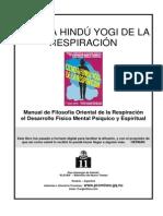 1903 Ciencia Hindu Yogi de La Respiración Ver.2