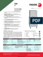 Fagor AD-120W Dishwasher