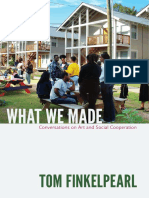 Rick Lowe Interview in Tom Finkelpearl's What We Made