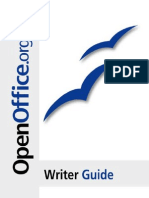OpenOffice - Writer Guide