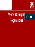 Work at Height Regulations