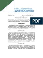 g.o. 5021 Decreto 883 - Normas Para La Clasificacion Calidad Del Agua