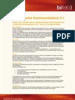 Detailprogramm Politische Kommunikation 2.1