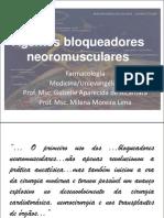 Conferência Bloqueadores Neuromusculares_Profas Guizelle e Milena