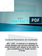 Law on Obligation and Contract Ppt.
