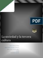 la sociedad y la tercera cultura